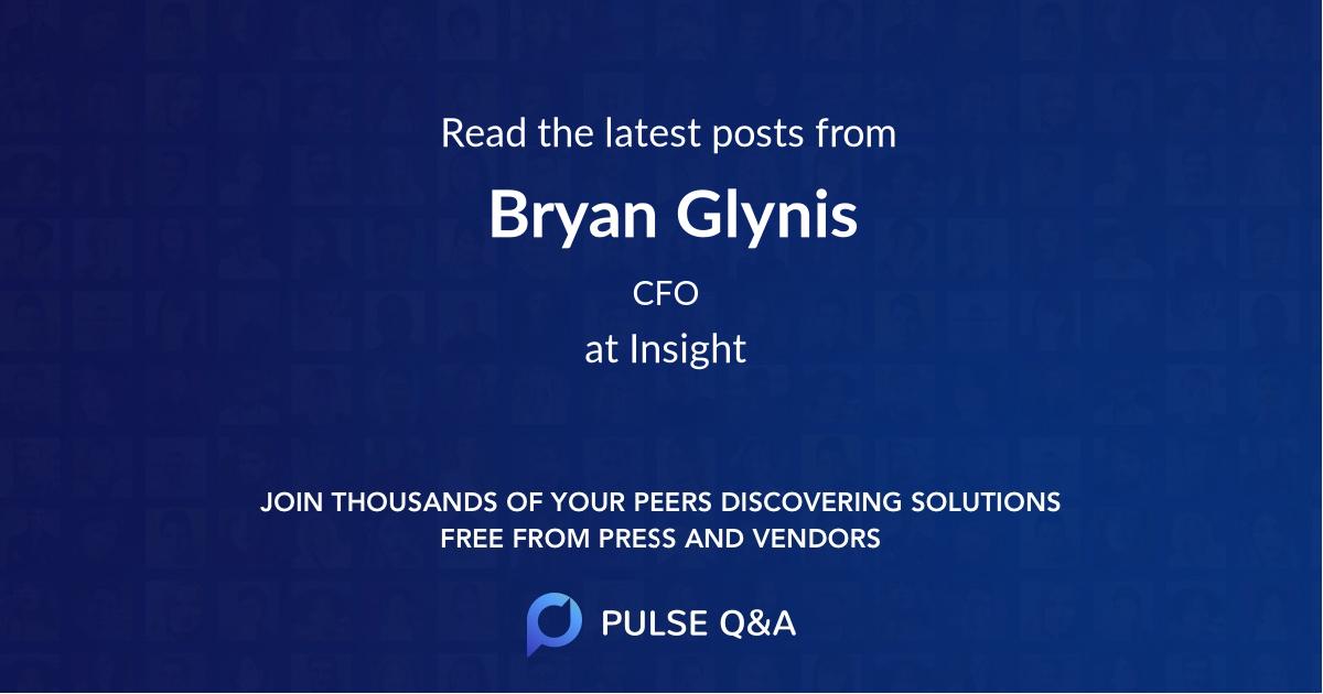 Bryan Glynis