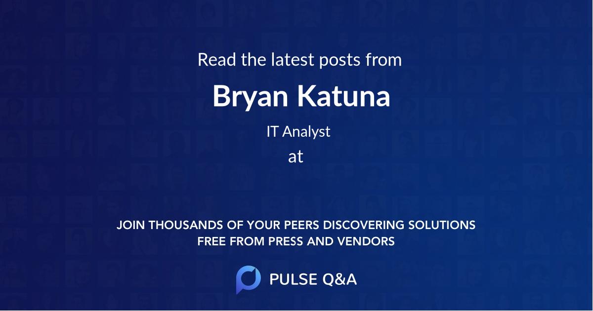Bryan Katuna