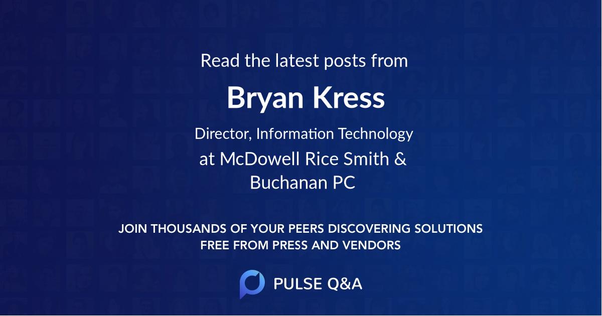 Bryan Kress