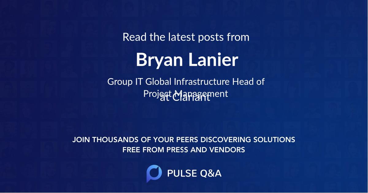 Bryan Lanier