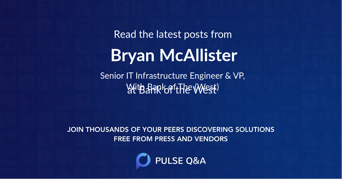 Bryan McAllister