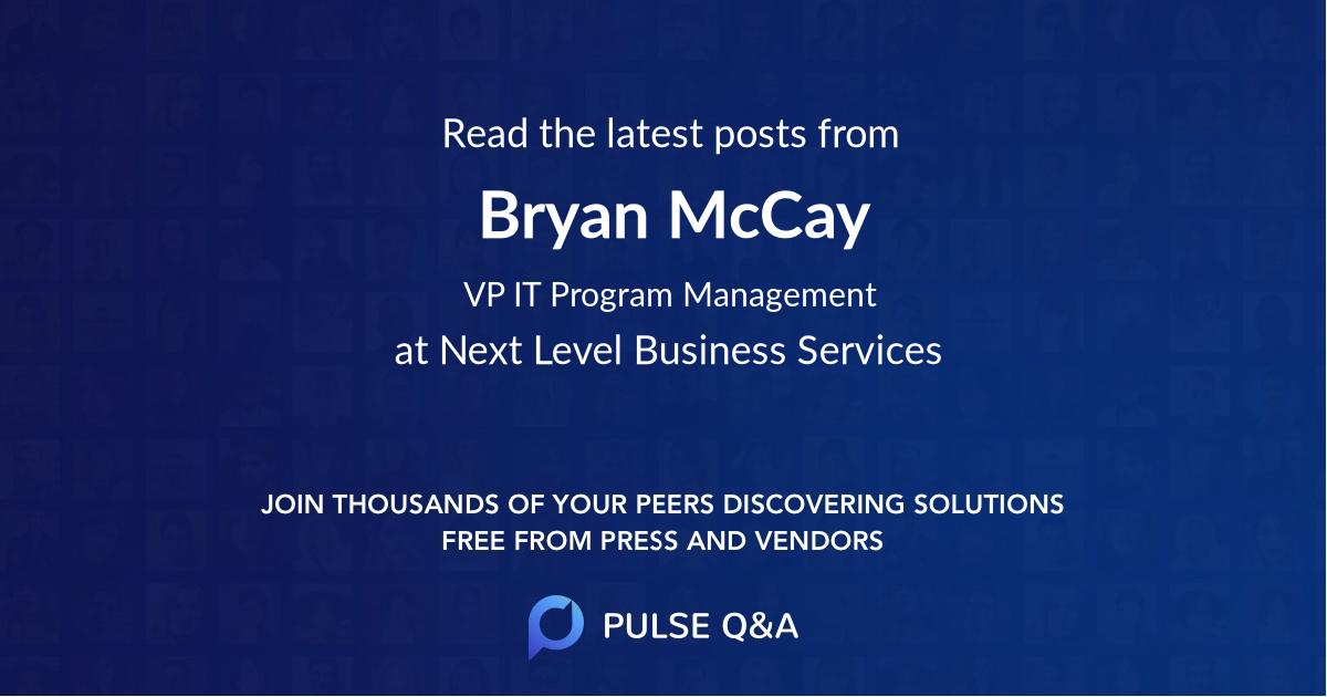 Bryan McCay