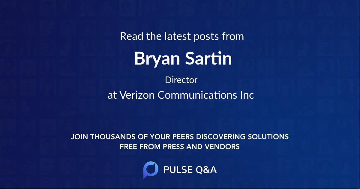 Bryan Sartin