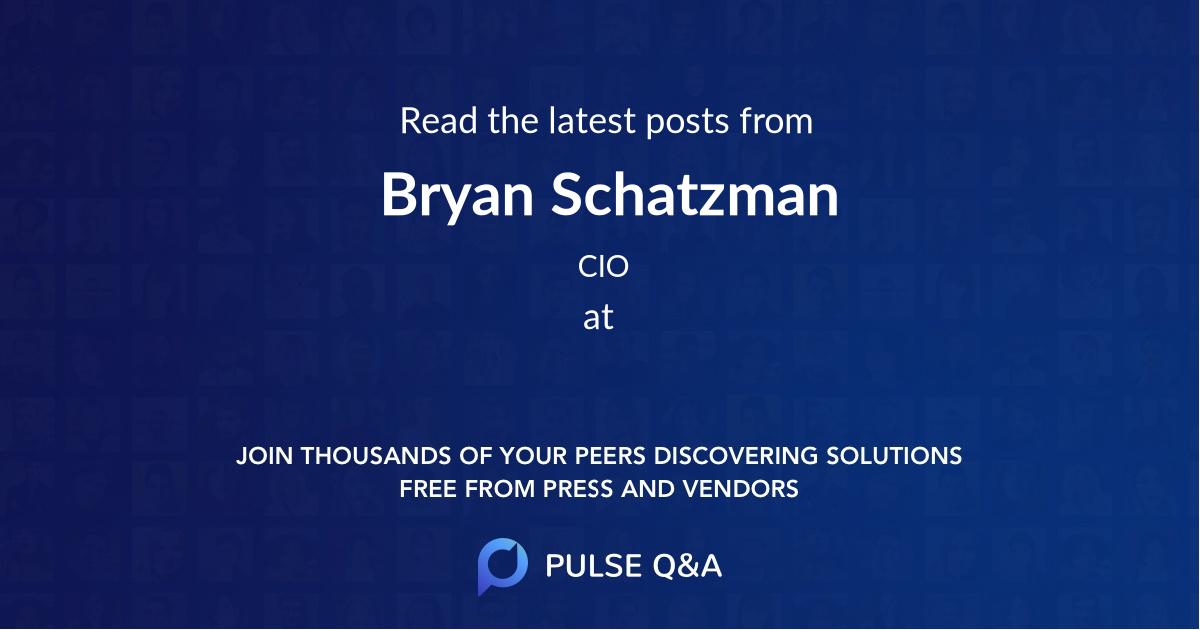 Bryan Schatzman