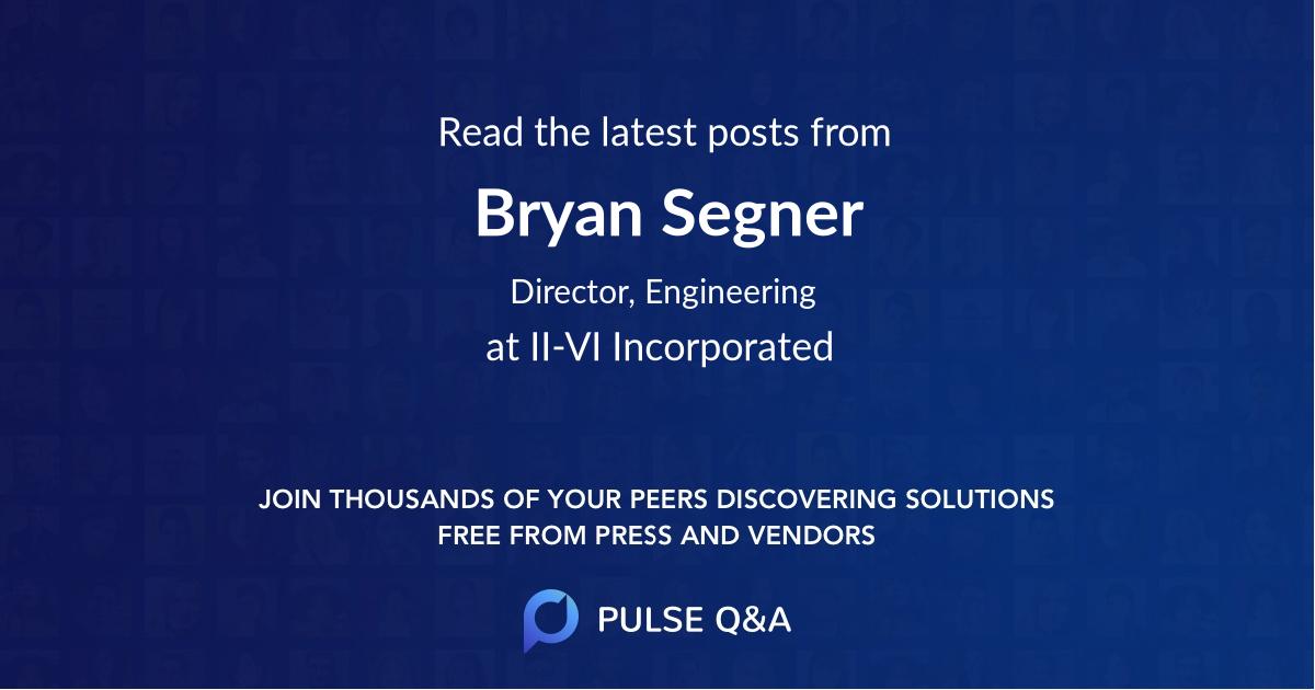 Bryan Segner