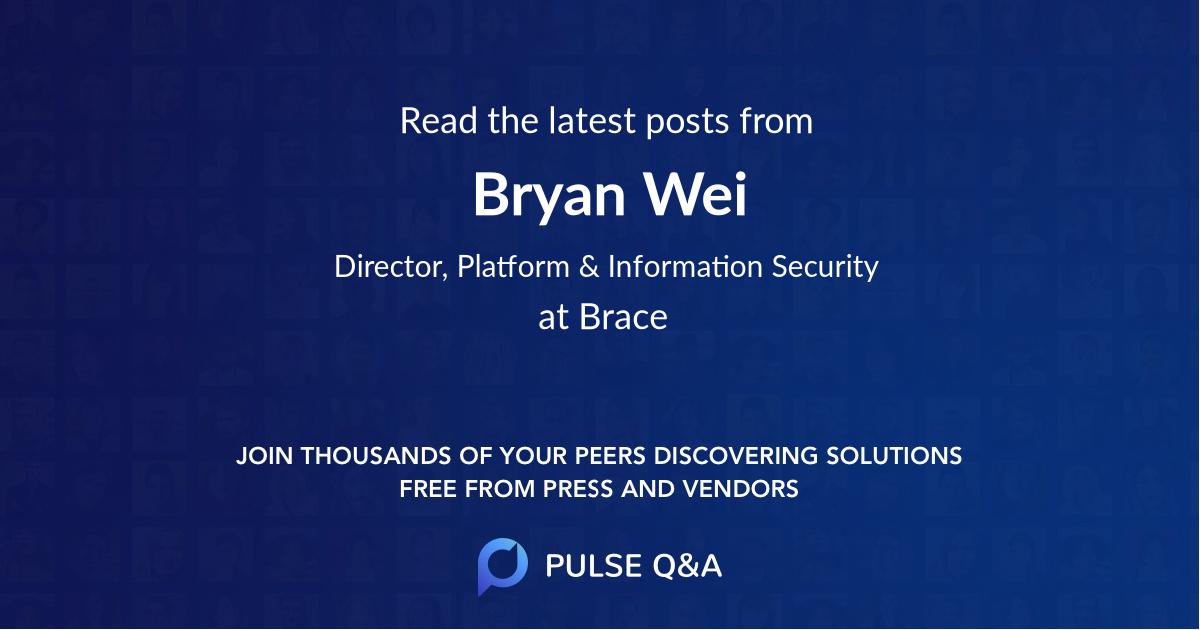 Bryan Wei