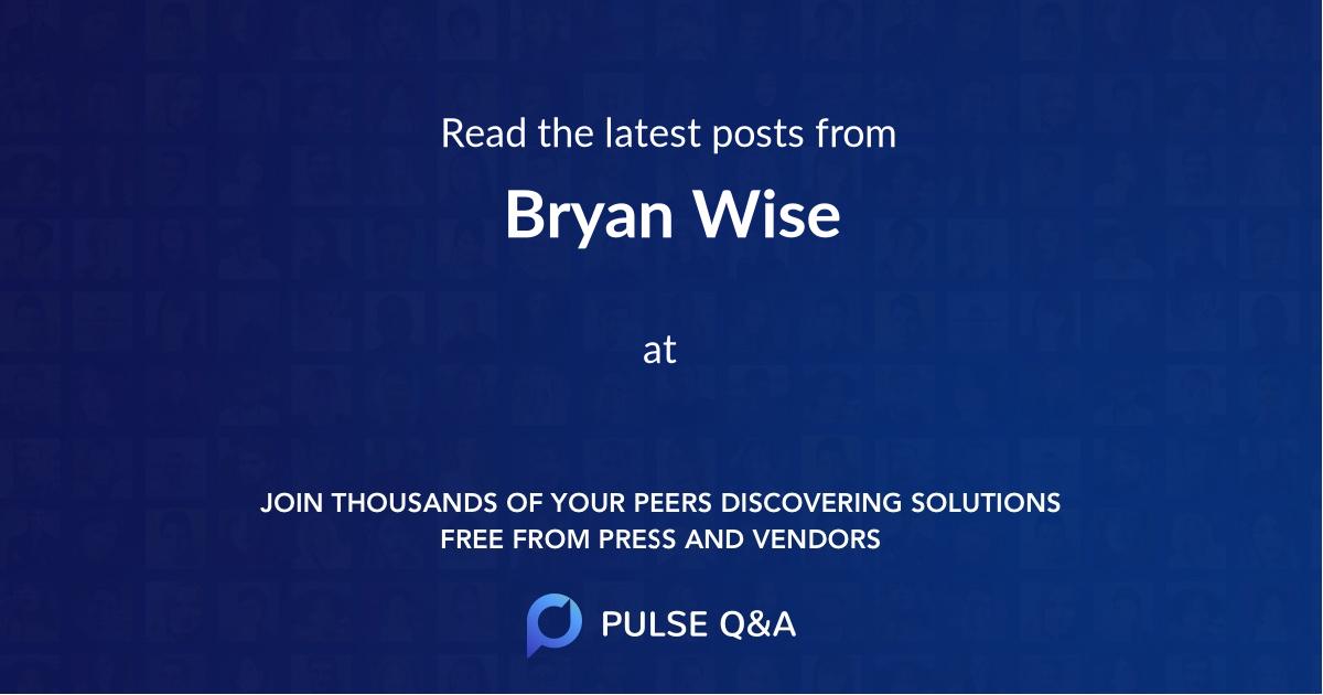 Bryan Wise
