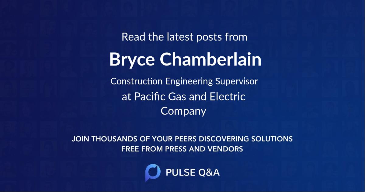 Bryce Chamberlain