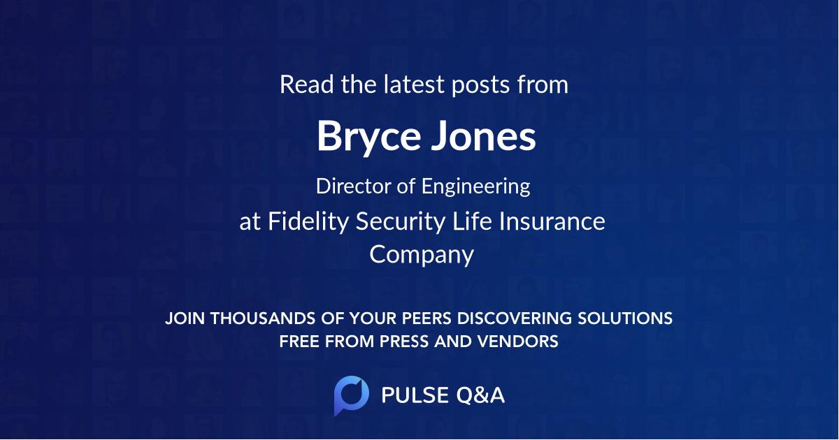 Bryce Jones