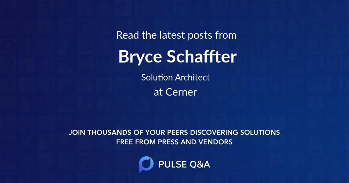 Bryce Schaffter