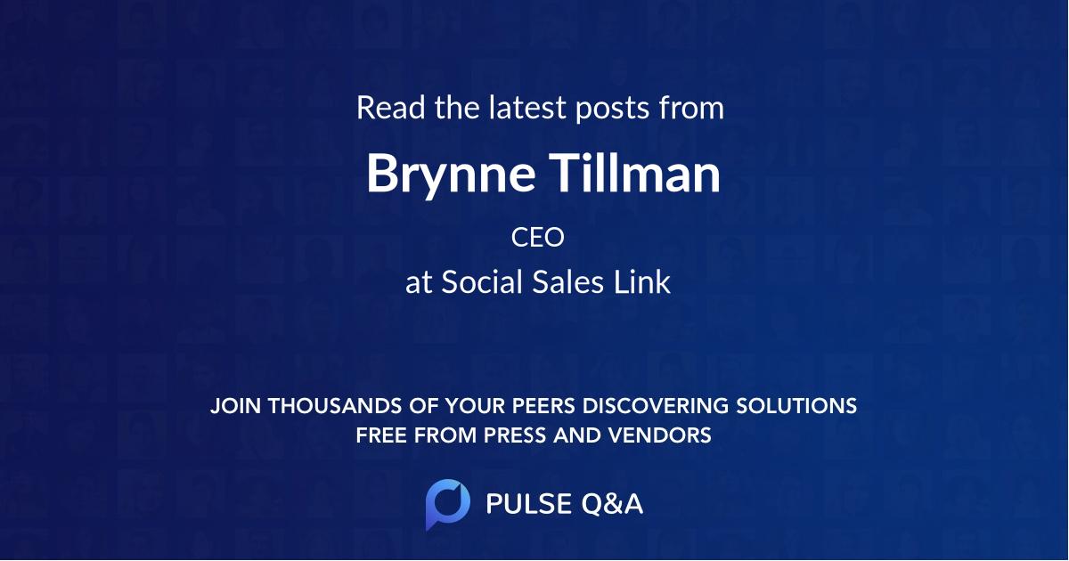 Brynne Tillman
