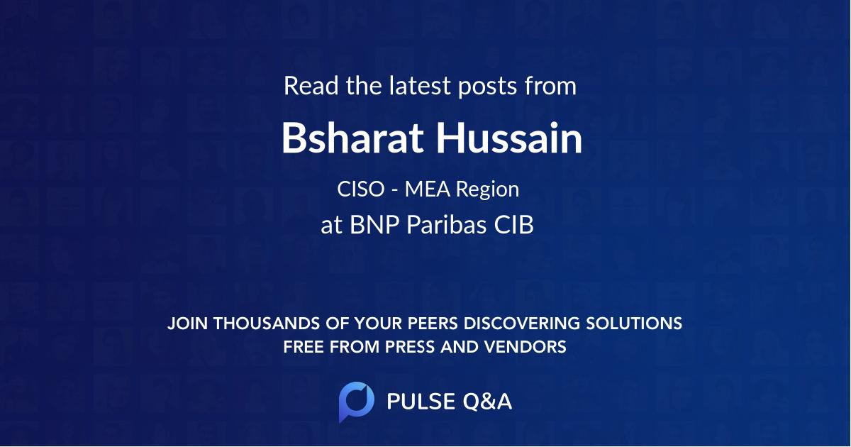 Bsharat Hussain