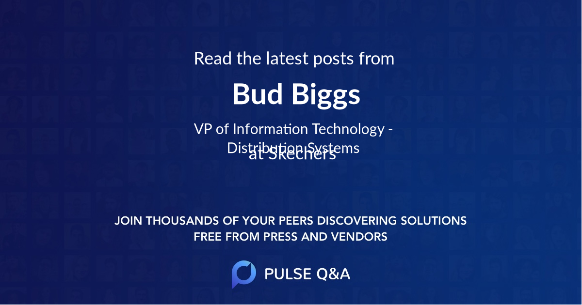 Bud Biggs