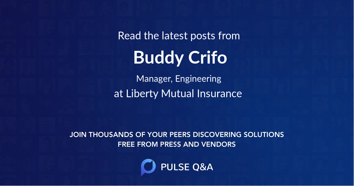 Buddy Crifo