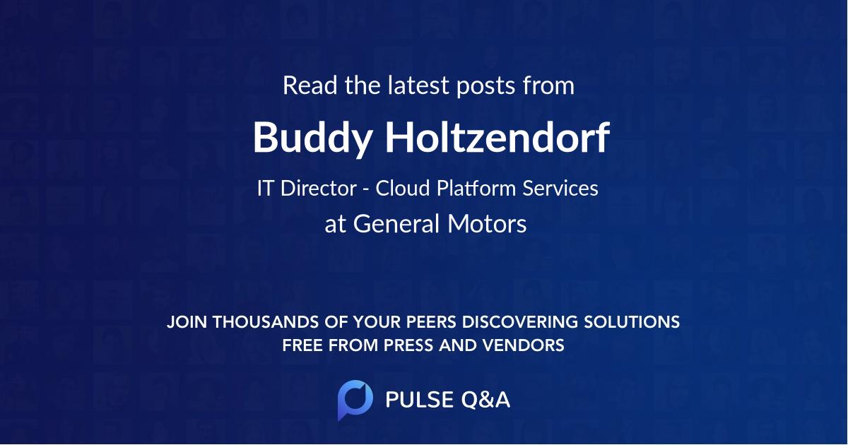 Buddy Holtzendorf