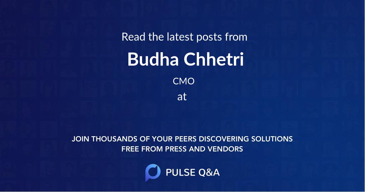 Budha Chhetri