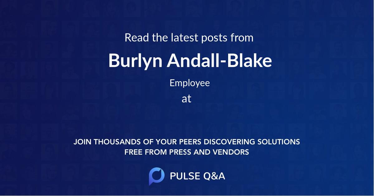 Burlyn Andall-Blake