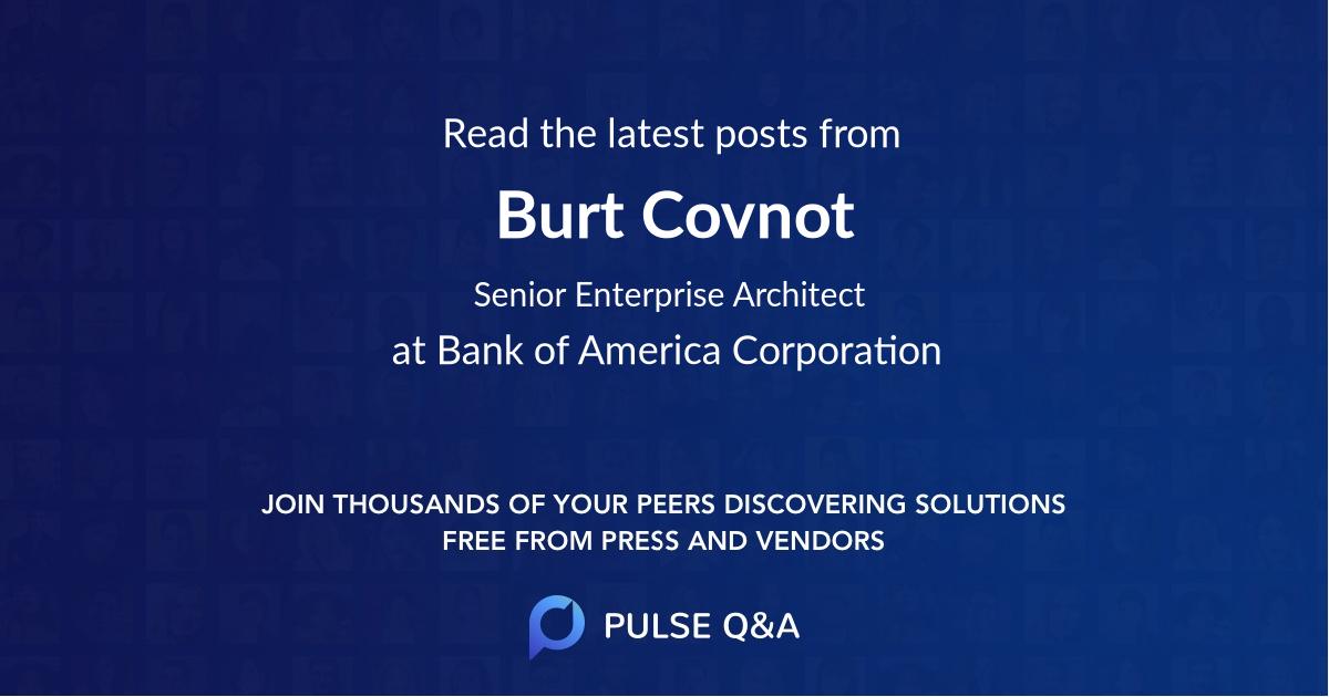 Burt Covnot