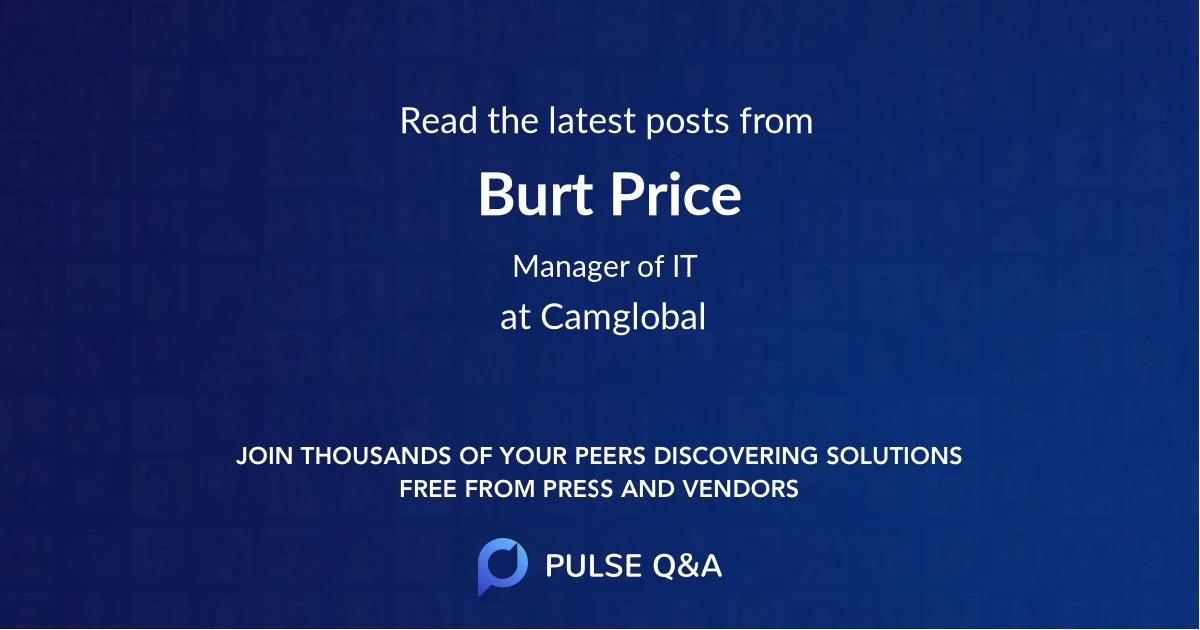Burt Price