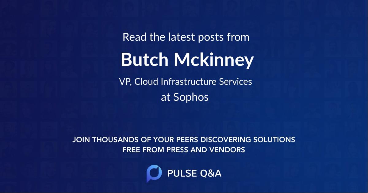 Butch Mckinney