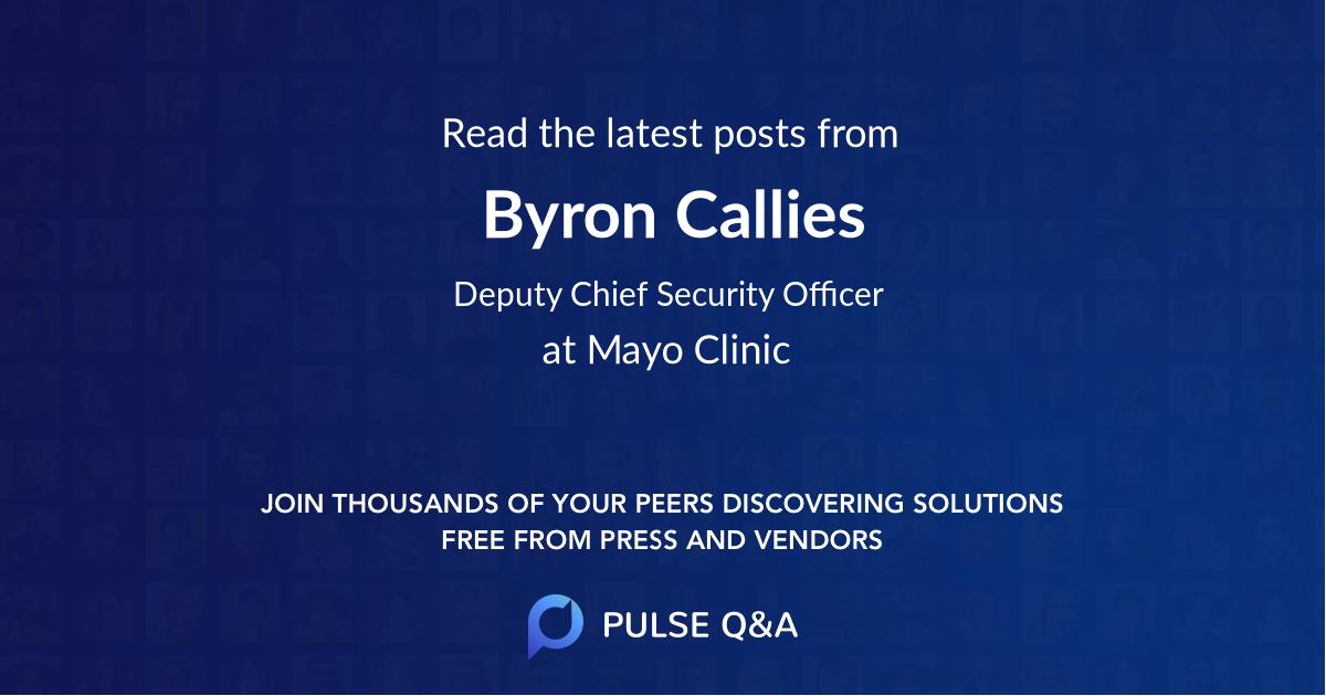 Byron Callies