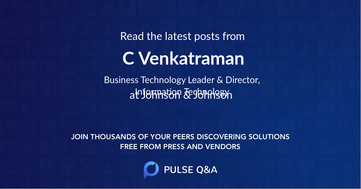 C. Venkatraman