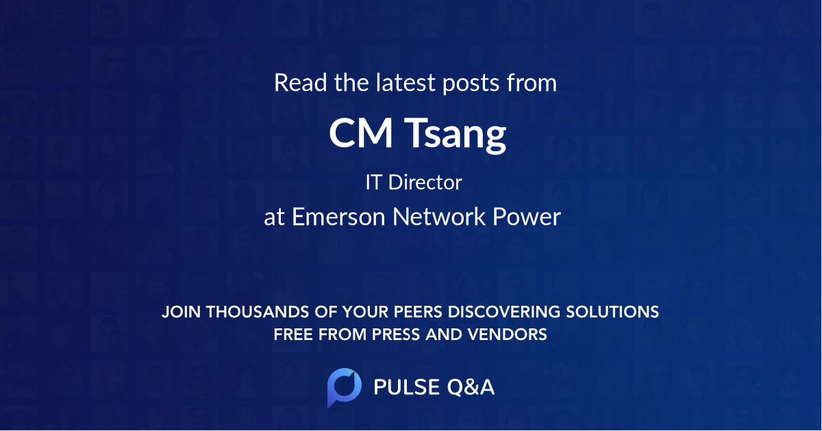 CM Tsang