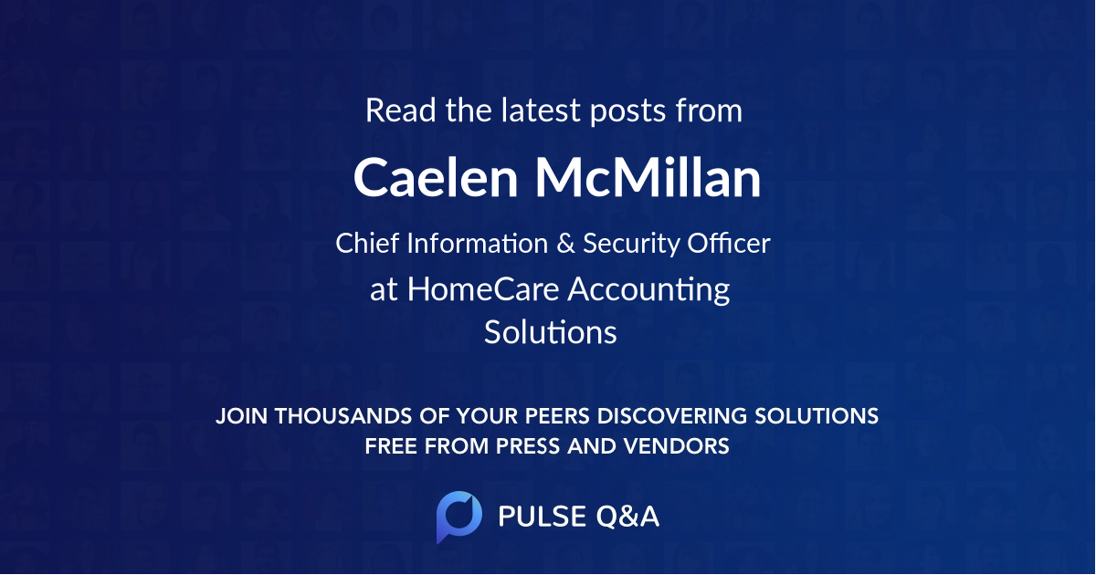 Caelen McMillan