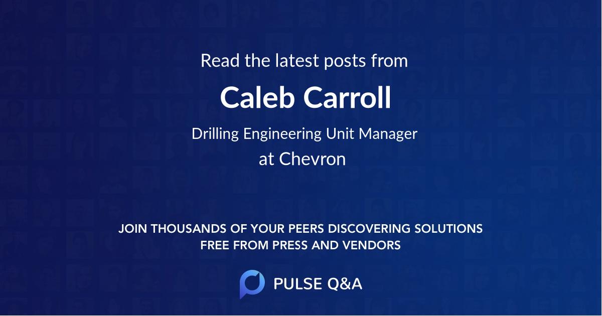 Caleb Carroll