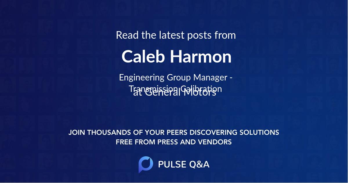 Caleb Harmon