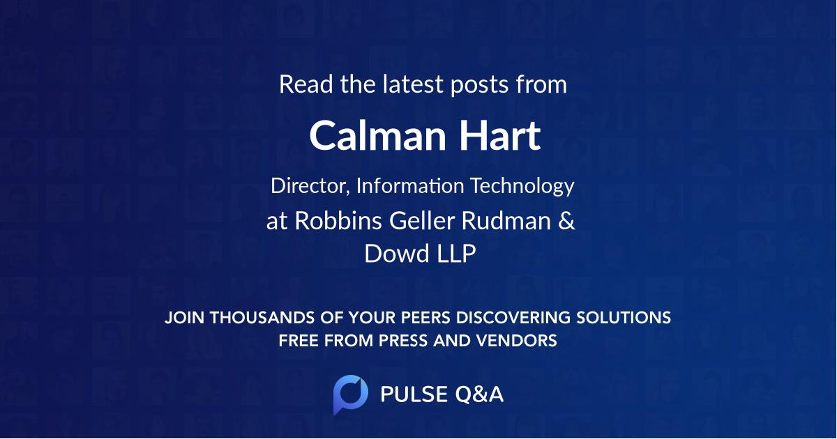 Calman Hart