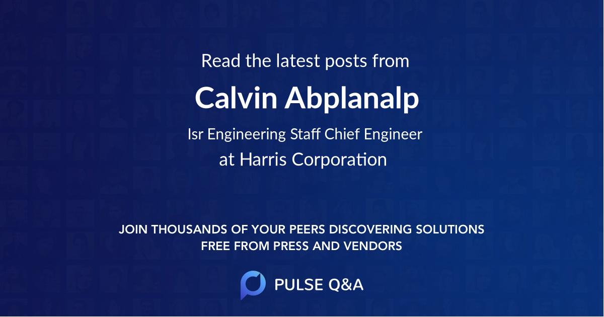 Calvin Abplanalp