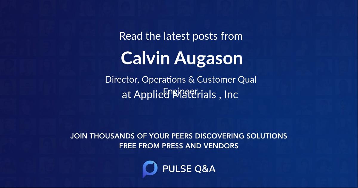 Calvin Augason