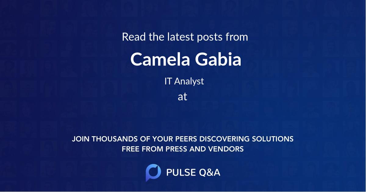 Camela Gabia