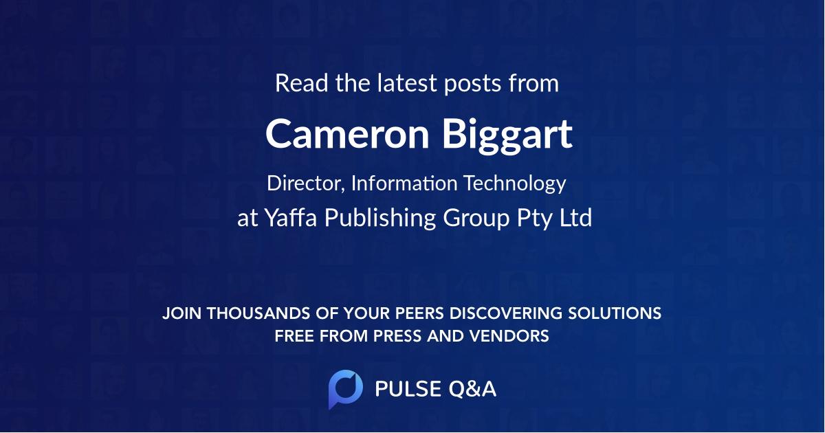 Cameron Biggart