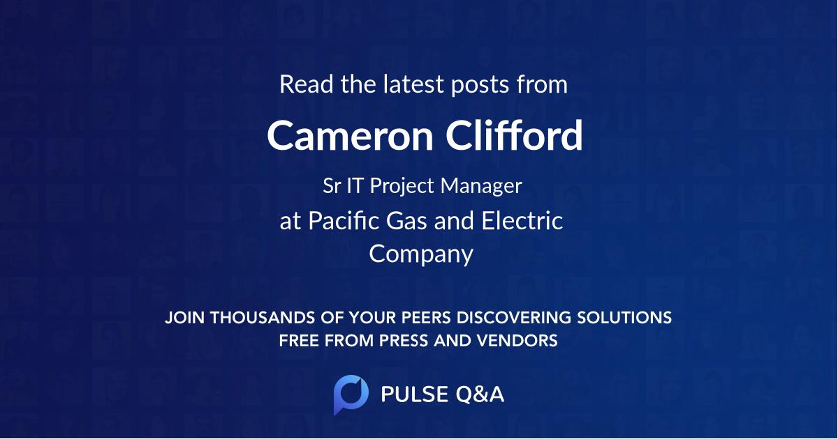 Cameron Clifford