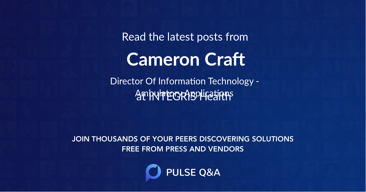 Cameron Craft