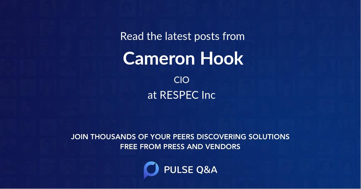 Cameron Hook