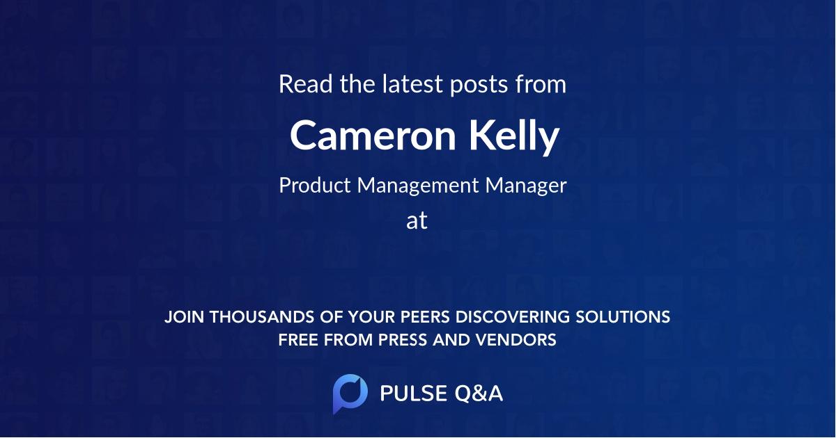 Cameron Kelly