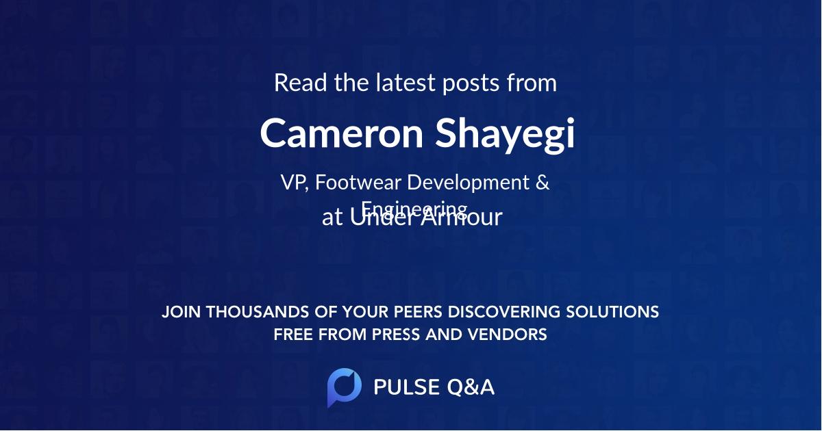 Cameron Shayegi