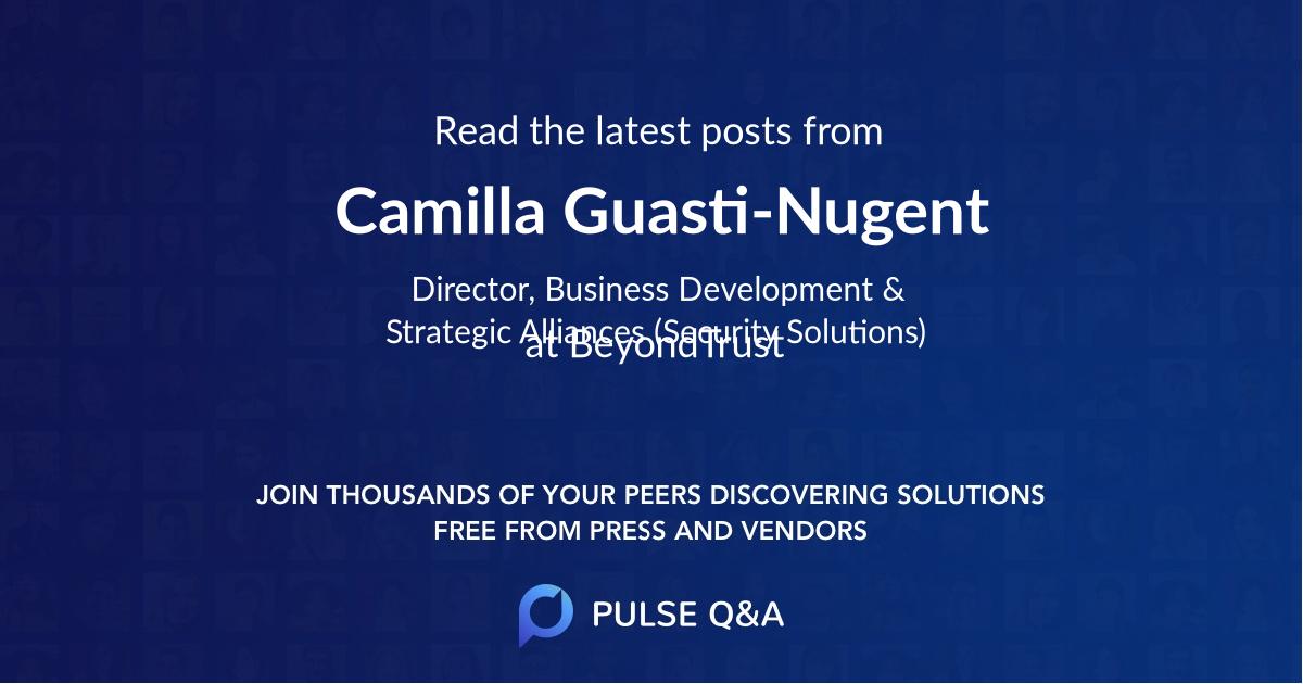 Camilla Guasti-Nugent