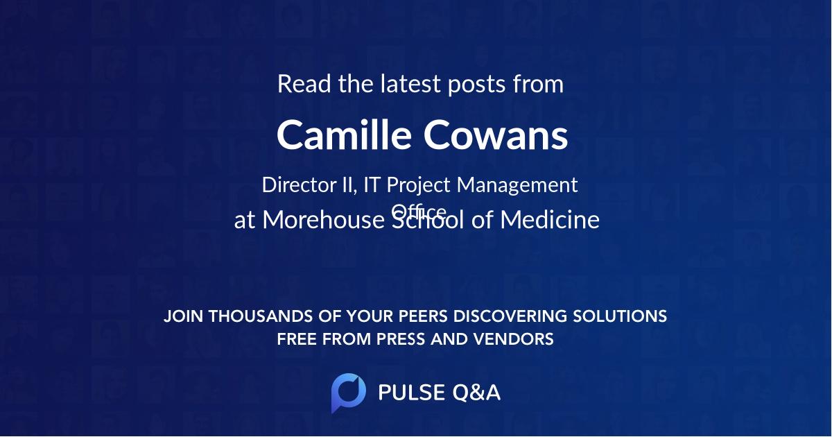 Camille Cowans