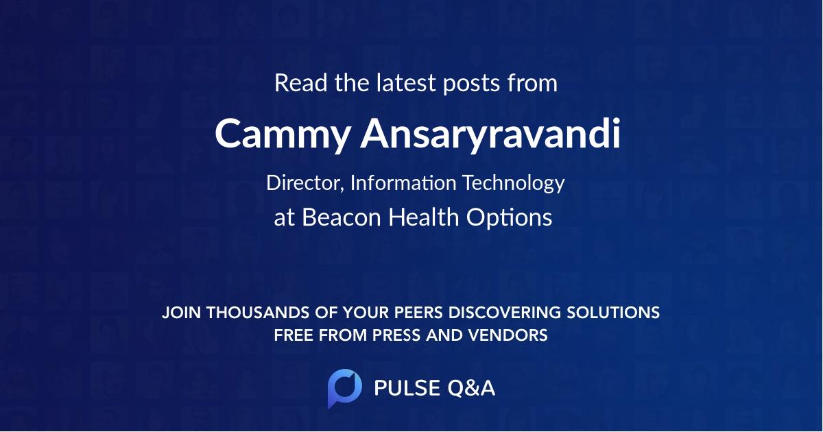 Cammy Ansaryravandi