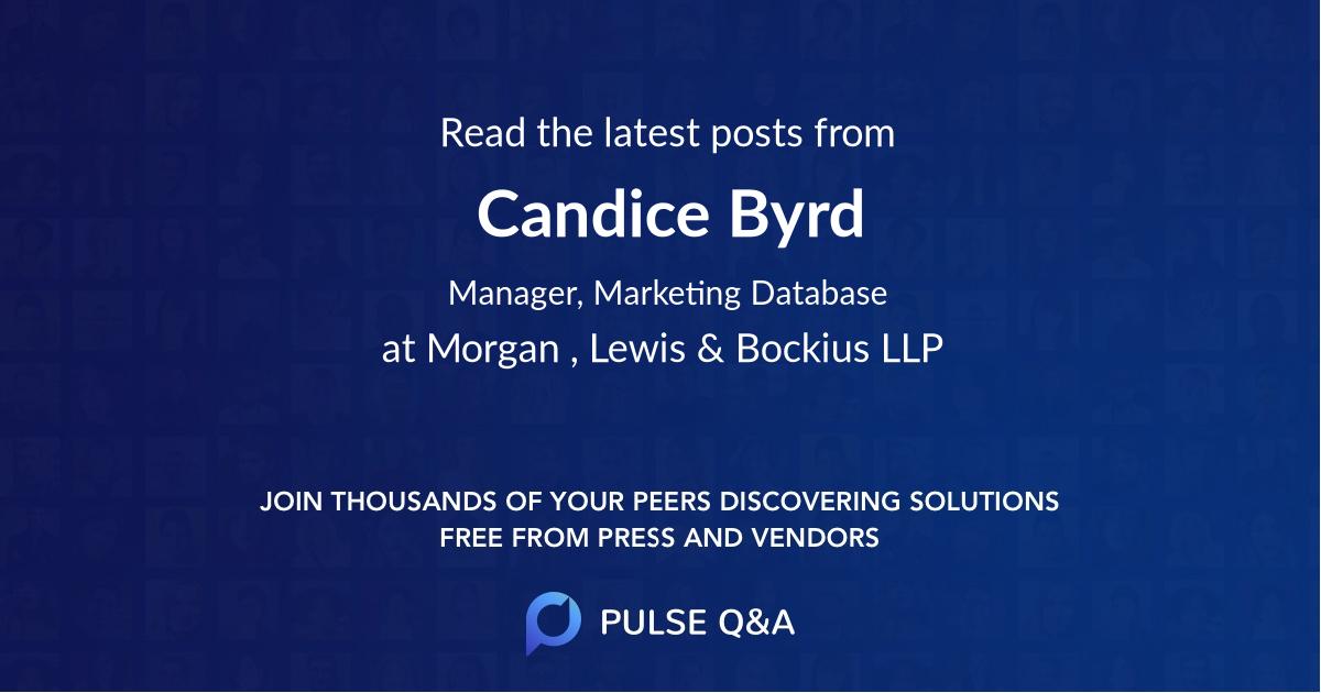 Candice Byrd