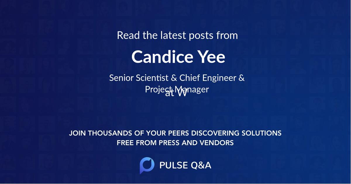 Candice Yee