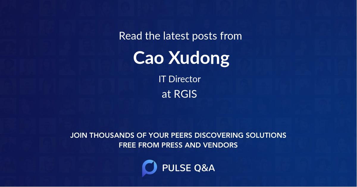 Cao Xudong