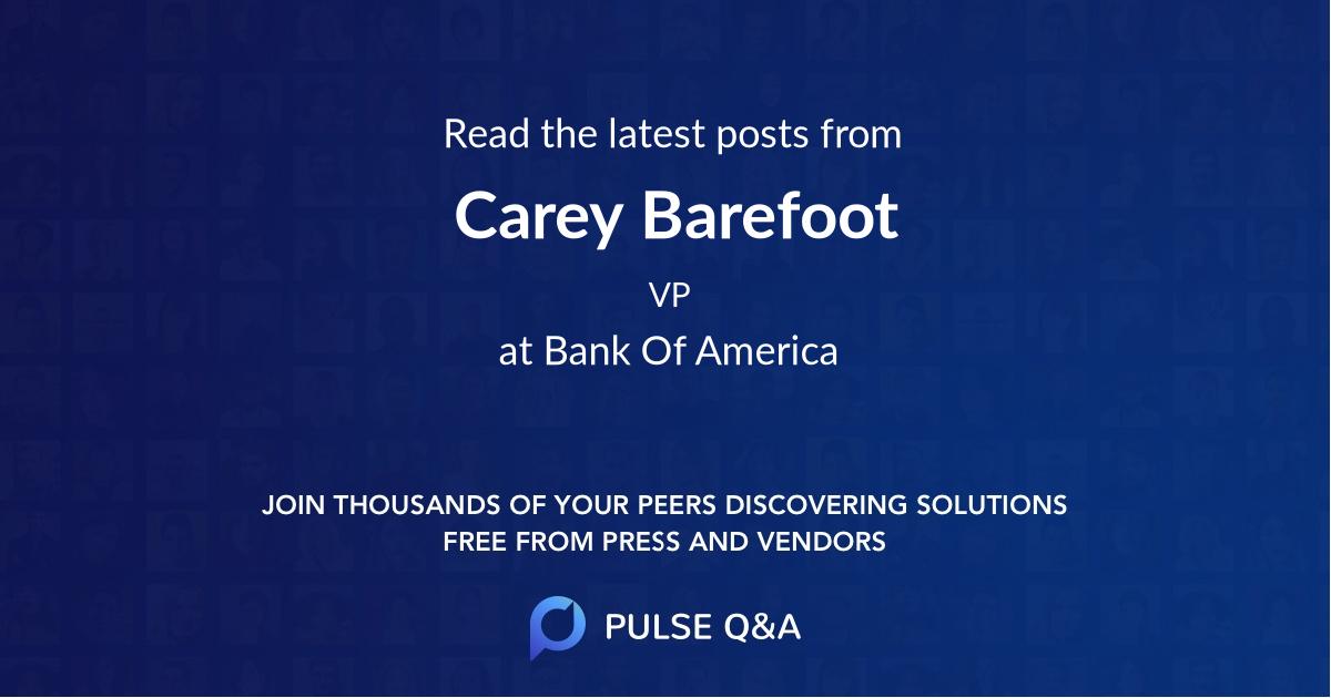 Carey Barefoot