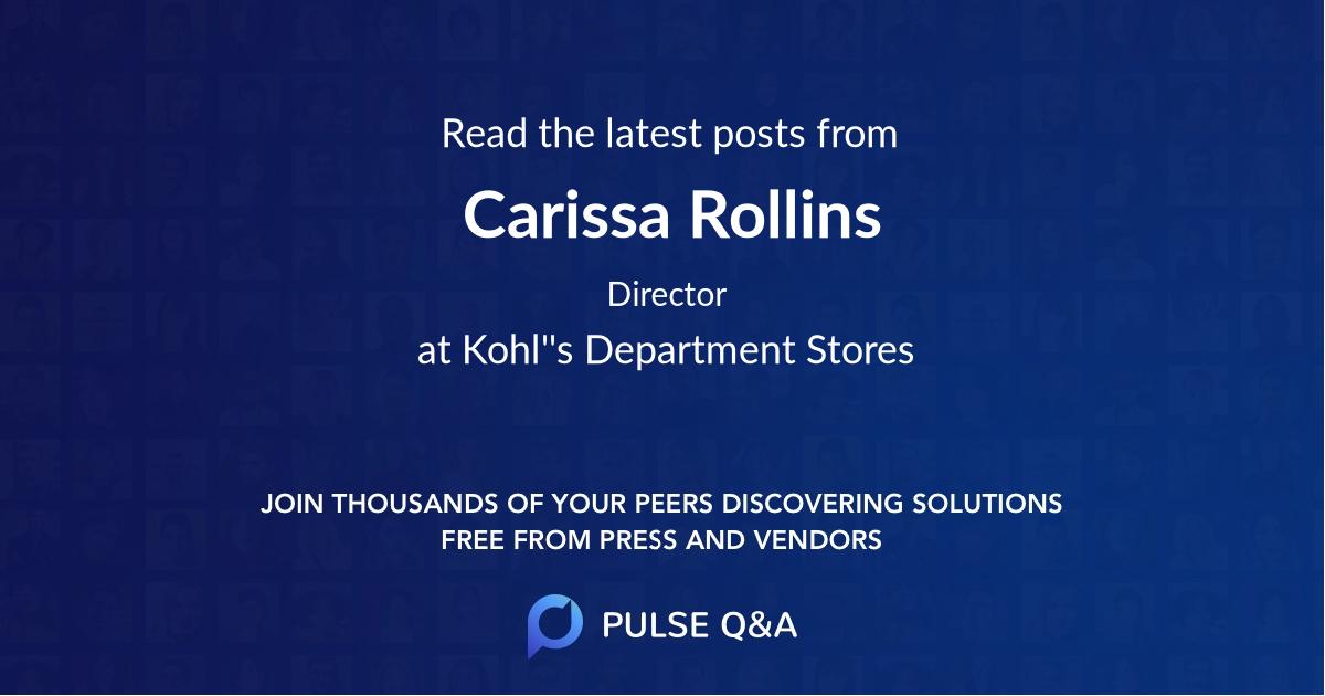 Carissa Rollins