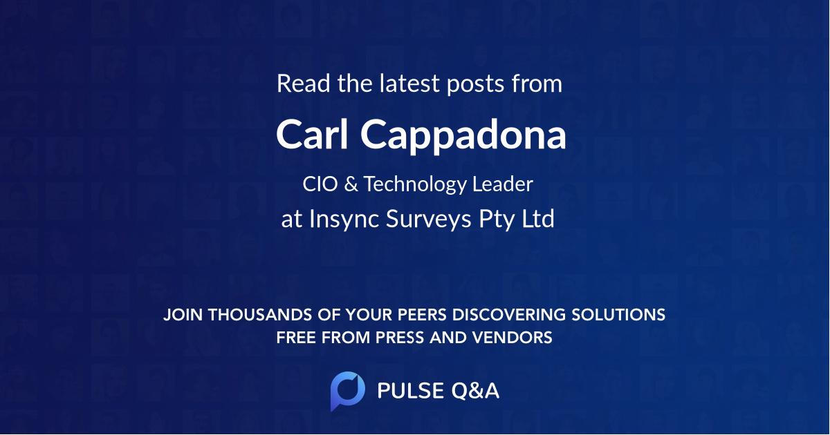Carl Cappadona
