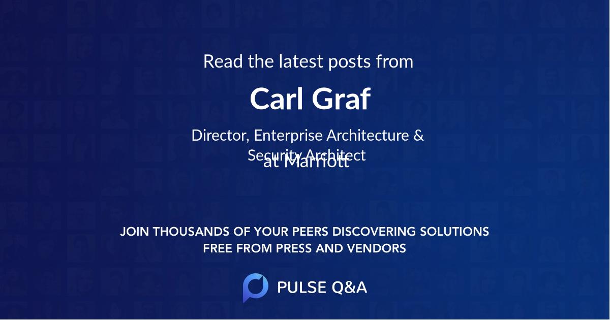 Carl Graf